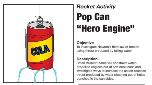 "Thumbnail Image for Rocket Activity: Soda Can ""Hero Engine"""